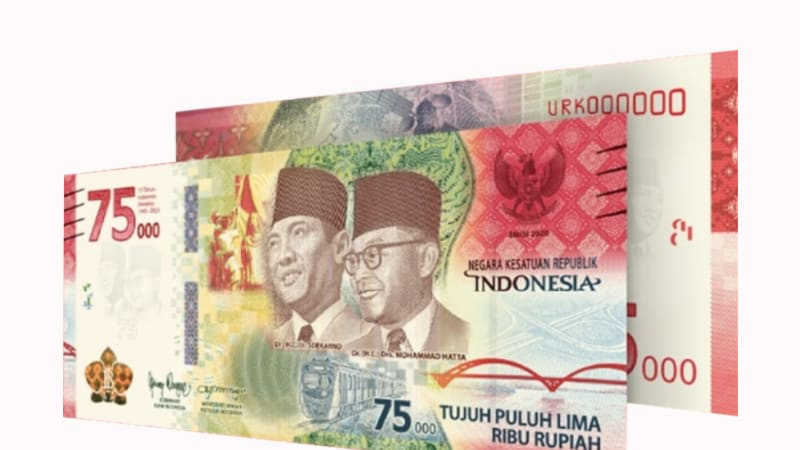 Bank Indonesia releases new banknotes to celebrate 75th Independence Day