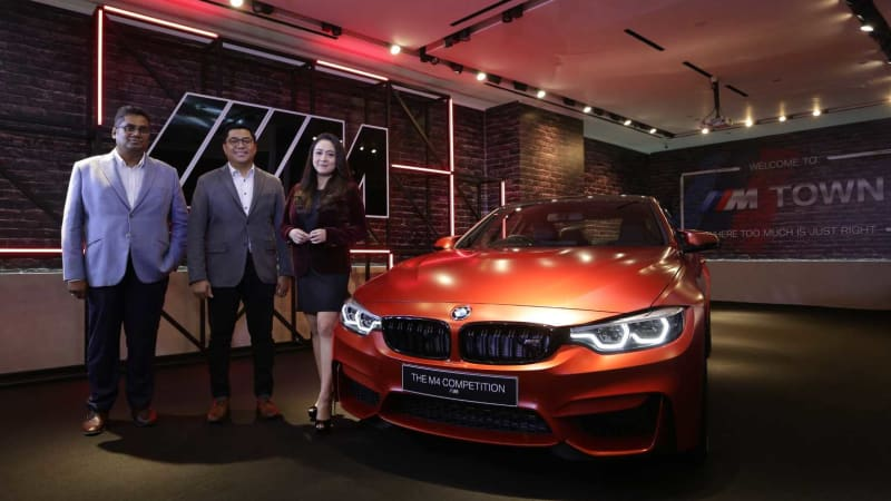 BMW Group Indonesia Launched the BMW M4 Competition