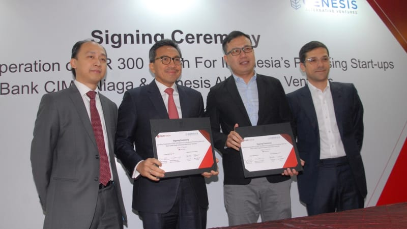 CIMB Niaga Teams Up with Genesis Alternative Ventures for Startup Financing