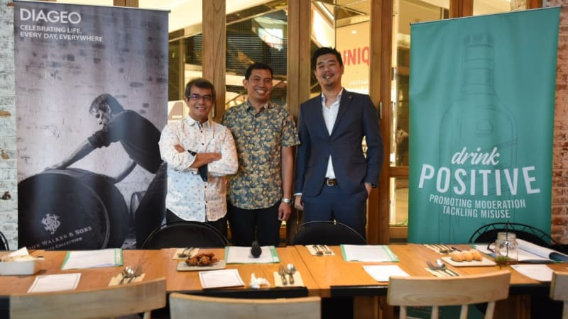 Diageo Indonesia Introduces Global Drink Positive 2.0 Campaign