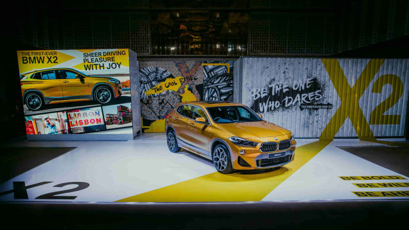Energetic Design: First Look BMW X2
