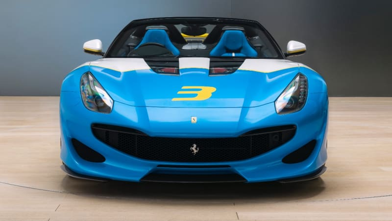 The SP3JC is Ferrari's Latest One Off Car