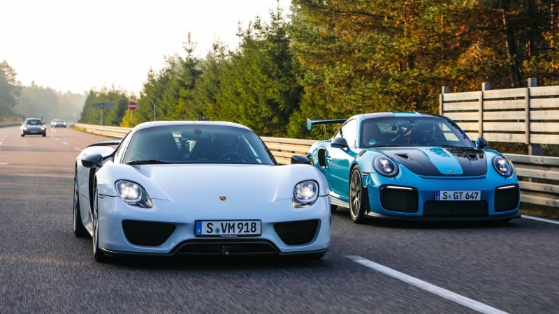 Here Are Five Fastest Road Legal Porsches