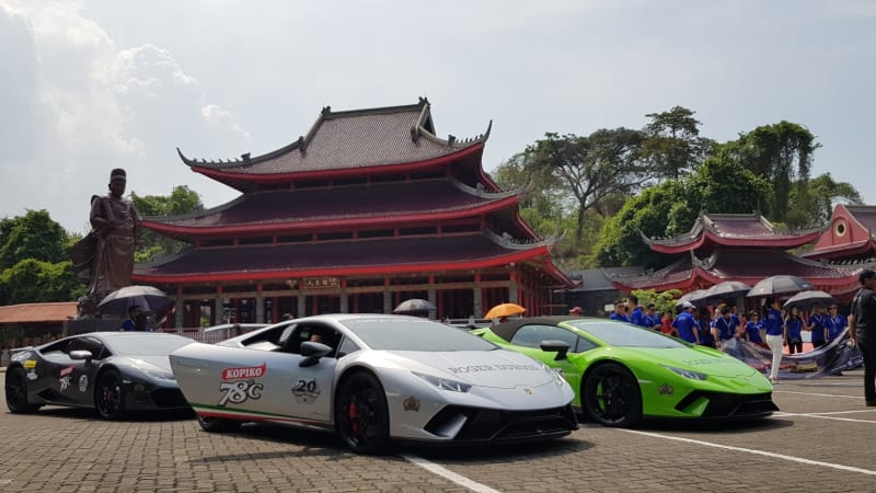Heritage Drive: Lamborghini Club Indonesia Bull Run Central Java Tour 2018