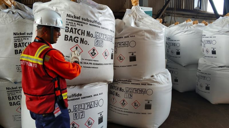 INCO's matte nickel output rose in Q1