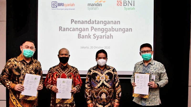 Indonesia to merge three sharia banks for global top 10 ranking