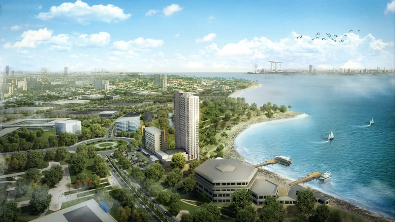 Indonesian Paradise Property Bid on High-End Market in Batam