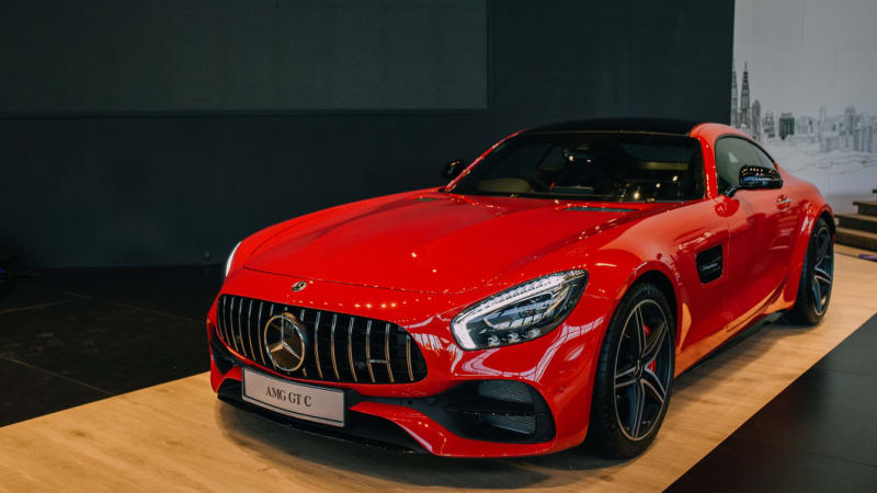 Mercedes-AMG GT C Review: A Seductive Benz