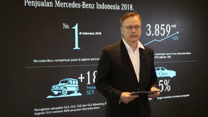 Mercedes-Benz Maintained Premium Automobile Leadership in Indonesia with a 12% Sales Increase Last Year