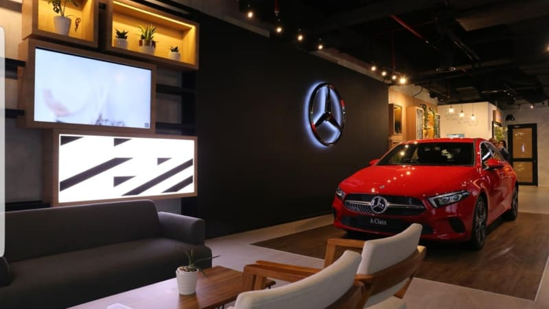 Mercedes-Benz Opened the First She's Mercedes Café