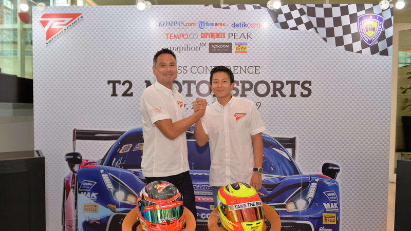 Rio Haryanto Teams Up with T2 Motorsports
