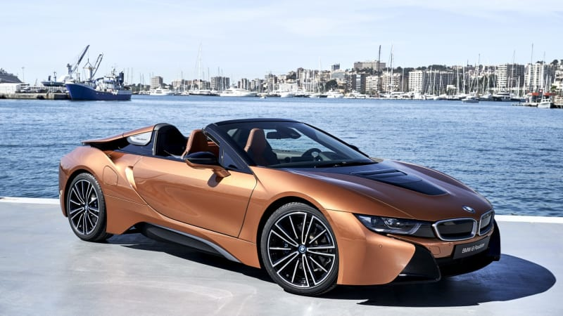 Sexy Future: BMW i8 Roadster Review