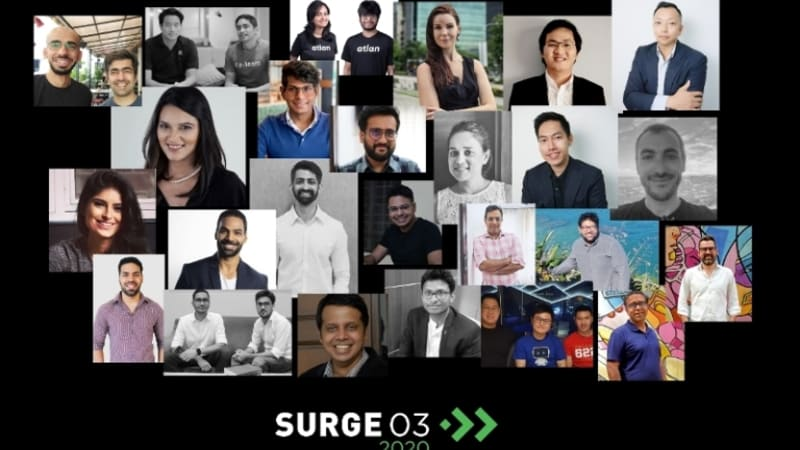 Surge of Sequoia Capital India announced 15 startups joining the accelerator program